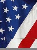 Flaggenahaufnahme Lizenzfreie Stockfotos