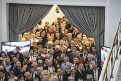 Flaggmärkesdag av Republiken Polen i Sejmen av Republiken Polen, Royaltyfria Foton