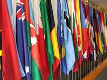 flaggor Arkivbild