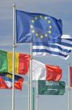 Flaggor royaltyfria foton
