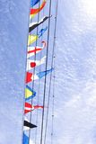 flaggor Arkivbilder