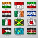 Flaggor. Royaltyfri Fotografi