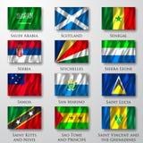 Flaggor. Royaltyfria Foton