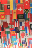 Flaggor Arkivfoto