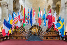 Flaggor Royaltyfri Bild