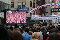 flaggor för fyrverkerier för dag för bakgrundsbastille celebratory Royaltyfri Bild