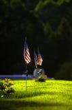 flaggor som under vilar Royaltyfria Foton