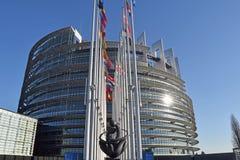 Flaggorna av EU-tillståndssymbolet av unionen 010 Arkivbilder