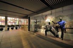 Flaggschiffspeicher Schaukasten Peking-Adidas größter Lizenzfreies Stockbild