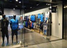 Flaggschiffspeicher Schaukasten Peking-Adidas größter Lizenzfreie Stockfotos