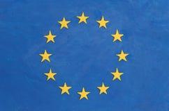 flagi europejskiej Obraz Stock