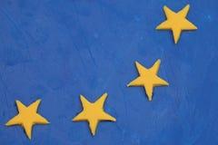 flagi europejskiej Zdjęcia Royalty Free