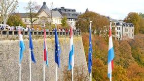 Flagi w Luksemburg