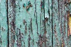 flagig trämålarfärgtextur Arkivbild
