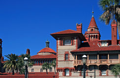Flagler college  located in historic St Augustine Florida. Beautiful Flagler college located in historic St Augustine Florida Stock Images