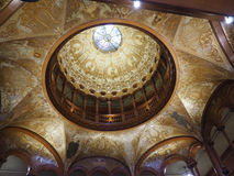 Flagler College rotunda dome Stock Photography