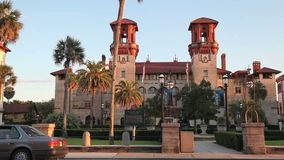 Flagler College Tight stock footage