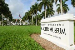 Flagler Museum, Palm Beach, Florida Royalty Free Stock Images