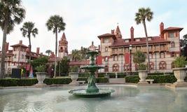 Flagler szkoła wyższa w St Augustine, Floryda zdjęcie stock