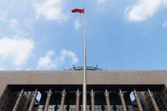 flagpole Photo libre de droits
