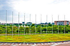 flagpole στοκ φωτογραφία με δικαίωμα ελεύθερης χρήσης