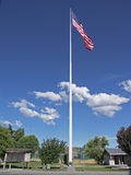 Flagpole - 2nd tallest in the US Stock Image