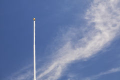 Flagpole. With no flag, Scipio, Utah Royalty Free Stock Photos
