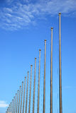 Flagpole Royalty Free Stock Images