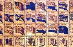 flags военноморская старая Стоковое Изображение