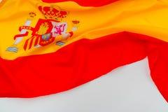flags Испания Стоковое Фото