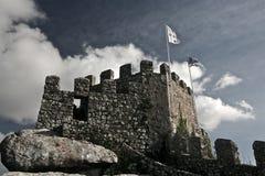 flags крепость mauritanian Стоковая Фотография