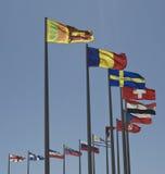 flags мир Стоковое Изображение RF