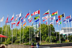 flags мир Стоковая Фотография RF