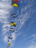 flags морское Стоковые Фото