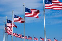 flags мы Стоковое фото RF