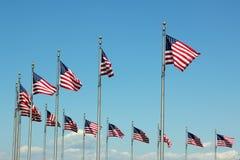 flags мы стоковое изображение