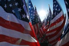 flags мы Стоковая Фотография