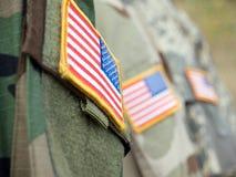 flags мы Стоковая Фотография RF