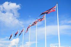 flags норвежец Стоковые Фото