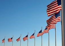 flags памятник около нас вашингтон Стоковое фото RF