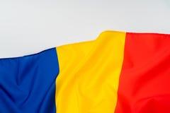 flags Румыния Стоковая Фотография