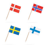 flags скандинав Стоковые Фото