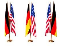 flags соединенное положение Германии Стоковое Фото