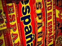 flags сторонницы испанцев Стоковое фото RF