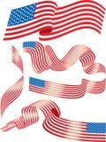 flags США Стоковое Изображение RF