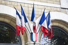 flags французская миниая Стоковые Изображения RF