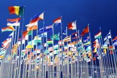 flags соотечественник стоковые изображения rf
