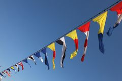 Flags 2 Royalty Free Stock Photo