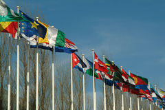 Flags. Countries,Flags Royalty Free Stock Images