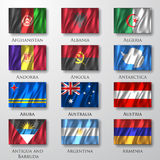Flags. Stock Photos